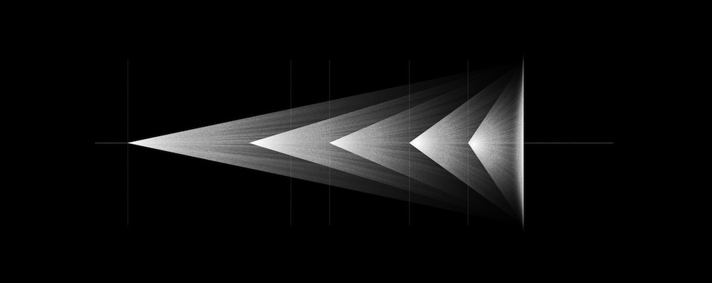 Projections de même taille obtenue à différentes distances compensées par la focale