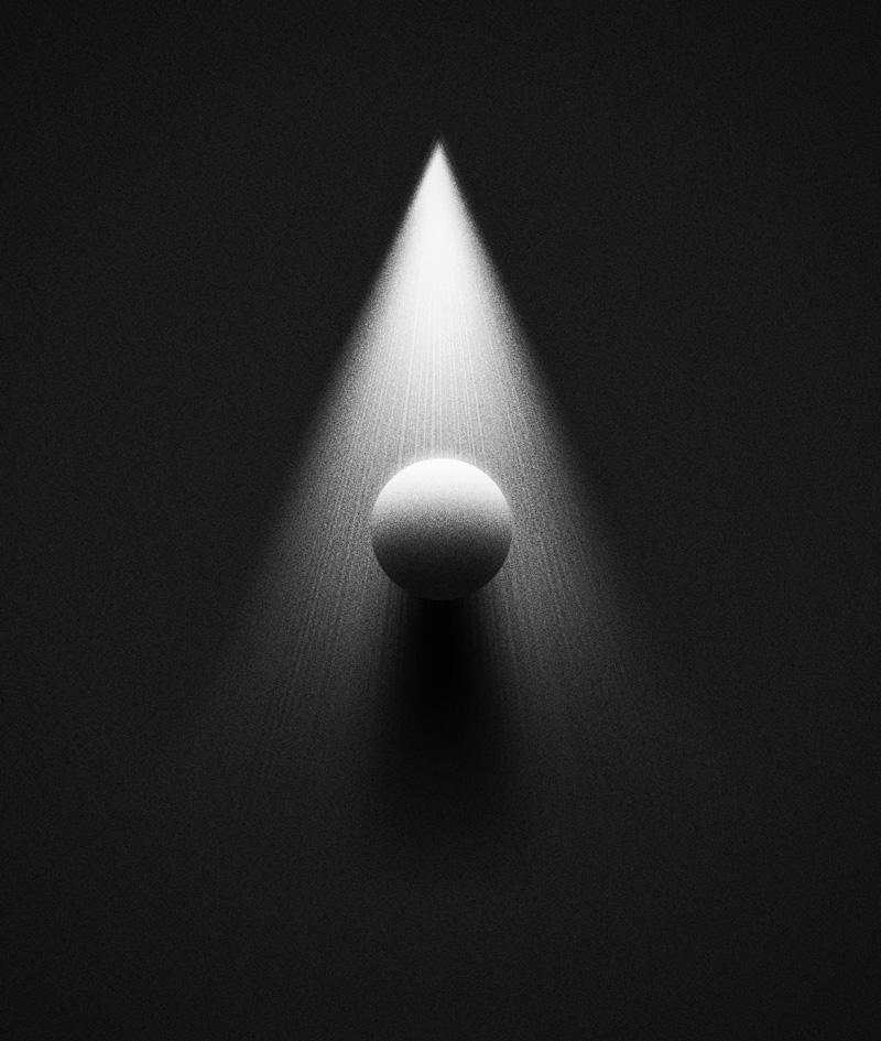 Éclairement d'une sphère par source diffuse