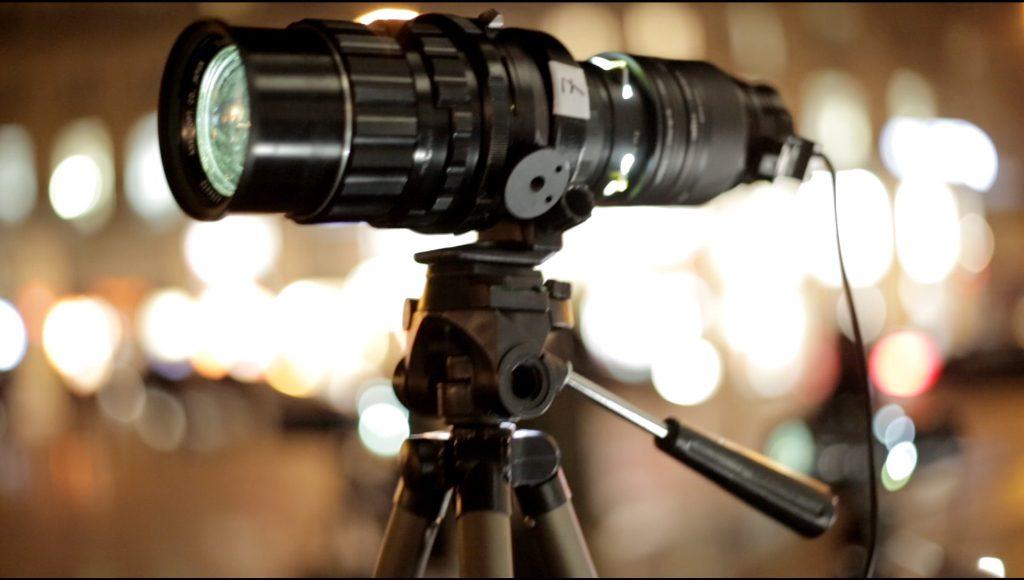 Quand on utilise Visio Photo Projector DIY en plein cœur de Paris